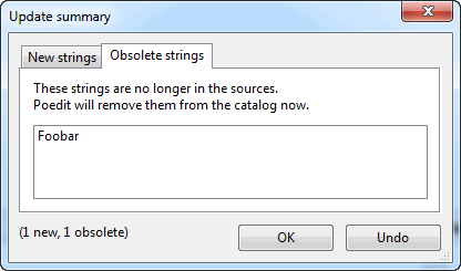 Obsolete string